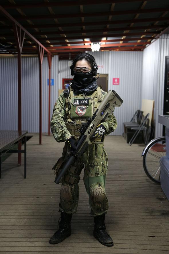サバゲー,サバイバルゲーム,服装,ファッション,装備,格好,写真,AOR2,Smith Optics,A-Two Tactical Gear,プレートキャリア,Flyye,MECHANIX WEAR