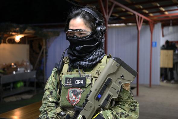 ゴーグル,Smith Optics,ヘッドセット,サバゲー,サバイバルゲーム,服装,ファッション,装備,格好,写真,迷彩,AOR2,A-Two Tactical Gear,プレートキャリア,Flyye,MECHANIX WEAR