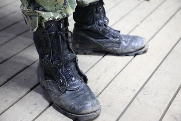 ブーツ,ROTHCO,サバゲー,サバイバルゲーム,服装,ファッション,装備,格好,写真,AOR2,ブーツ