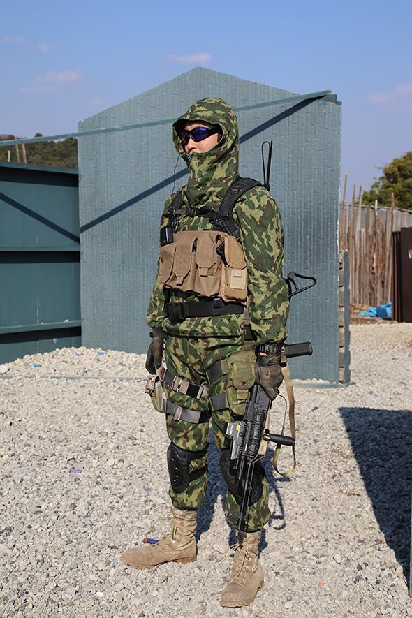 サバゲー,装備,サバイバルゲーム,格好, ファッション,服装,ロシア軍,迷彩,WILEYX,x115xTAYLOR
