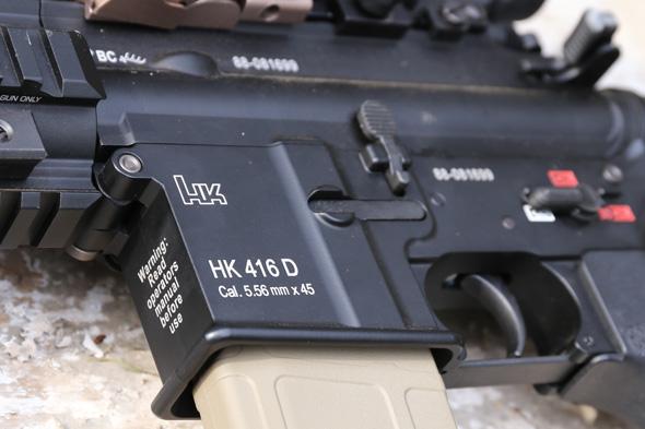 サバゲー, 装備, エアガン, 写真, マルイ, HK416, DEVGRU, マグプル, 光学サイト,Aimpoint, EOTech EXPS