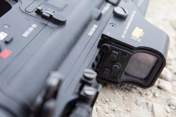 光学サイト,EOTech, サバゲー, 装備, エアガン, 写真, マルイ, HK416, DEVGRU