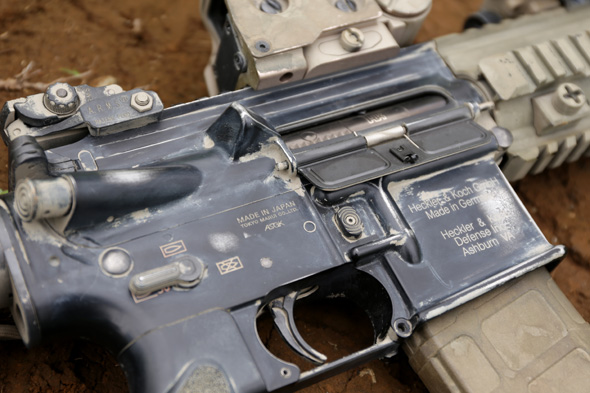 HK416D, 東京マルイ, サバゲー, 装備, エアガン, 写真