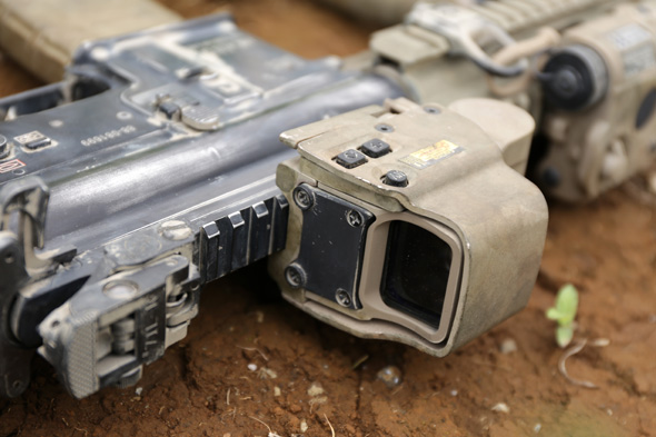 光学サイト, EOTech EXPS3-2, ホロサイト,HK416D, 東京マルイ, サバゲー, 装備, エアガン, 写真