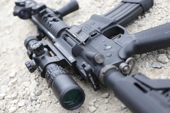 スコープ, スコープマウント,LaRul Tactical,サバゲー, 装備, エアガン, 写真