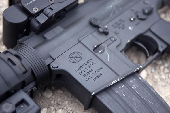 サバゲー, 装備, エアガン, 写真,G&P M16A4