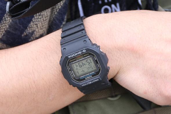 G-SHOCK,時計,サバゲー, サバイバルゲーム, 格好, 服装, ファッション, 装備