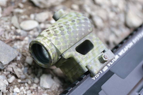 Aimpoint T-1タイプ ドットサイト,サバゲー,装備,エアガン,写真