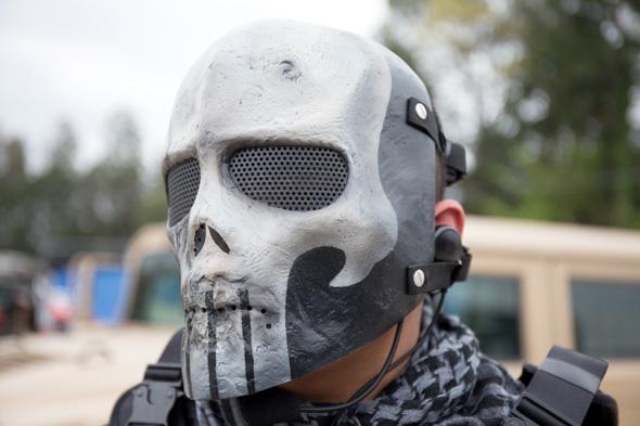 マスク,サバゲー, 装備, サバイバルゲーム, 格好, ファッション, 服装