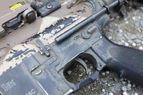 VFC HK416C,エアガン,ペイント,サバゲー, 装備, サバイバルゲーム, 格好, ファッション, 服装