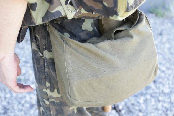 PMK-1 gas mask bag,サバゲー,サバイバルゲーム,格好,服装,ファッション,装備