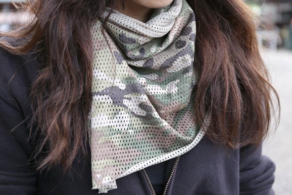 迷彩スカーフ,サバゲー,装備,サバイバルゲーム,格好,ファッション,服装