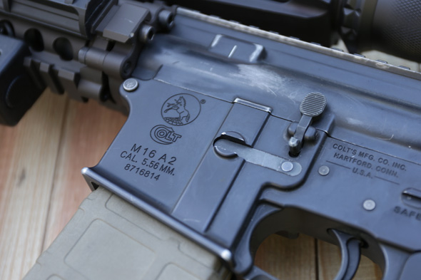 トレポン,M16A2