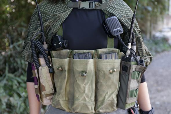 Type56 チェストリグ,サバゲー装備ファッション