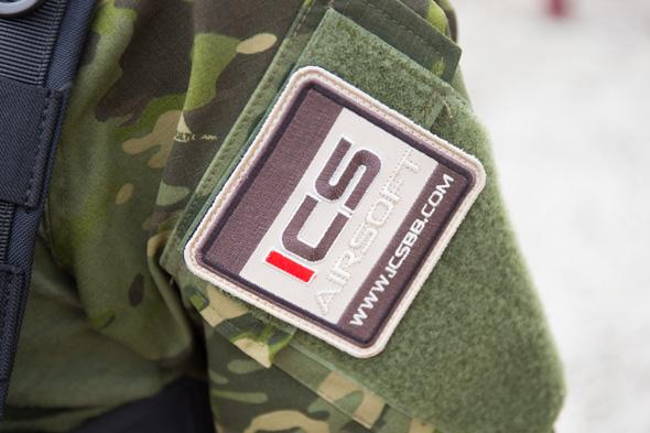 ICS パッチ,サバゲー,装備