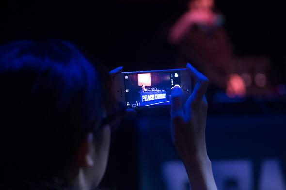 PEACE COMBAT FES 2015 ウェルカムパーティー フロアー写真