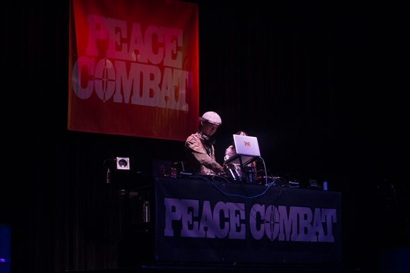 DJ PEACE COMBAT FES 2015 Welcome Party