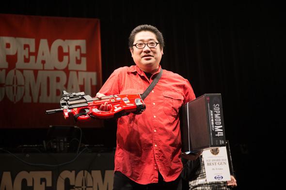 SGF Award 2014 BEST GUN 受賞者