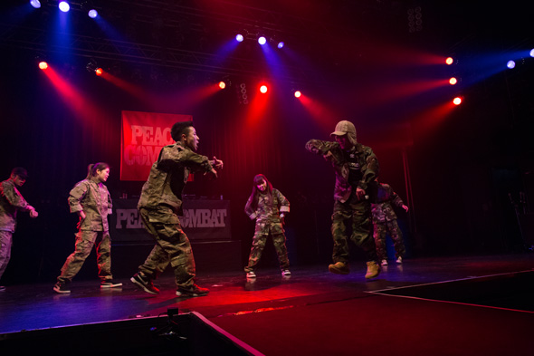 PEACE COMBAT FES 2015, SGF Breakers,Break Dance Battle show case