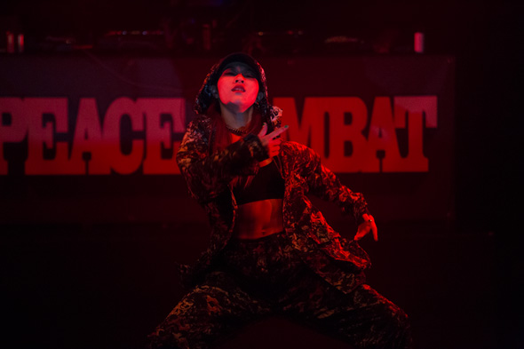 ダンサーChiharu,PEACE COMBAT FES 2015,Pellet Bullet,Girls HipHop Dance show case