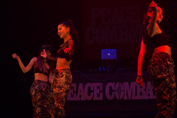 PEACE COMBAT FES 2015,Pellet Bullet,Girls HipHop Dance show case