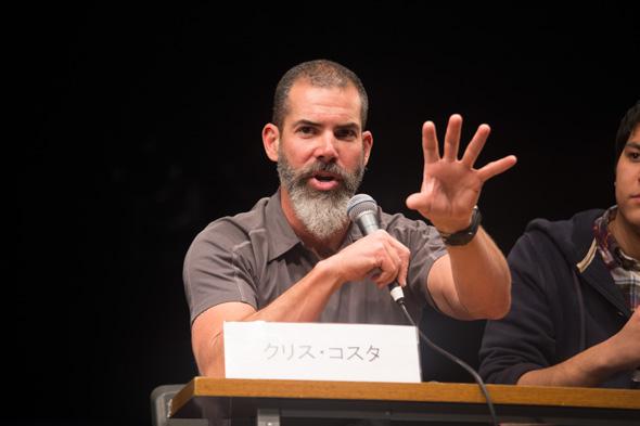 Chris Costa 登壇イベント、トークタイム