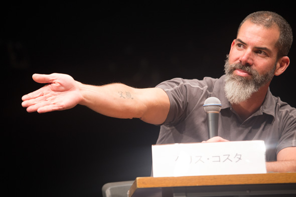 Chris Costa 登壇イベント, Peace Combat Fes2015 O-EAST