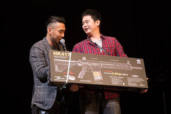 HK417プレゼント受賞者